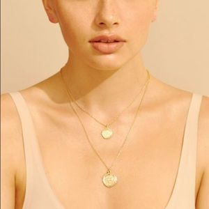 Jewelry - Amber Sceats Double Coin Necklace